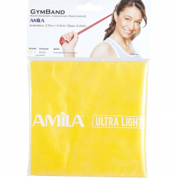 Amila gymband 2,5 m 0,2mm ultra light 2,4kg -5,9 kg